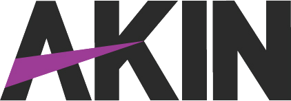 Akin Plain Logo - Black-Purple-TransBG